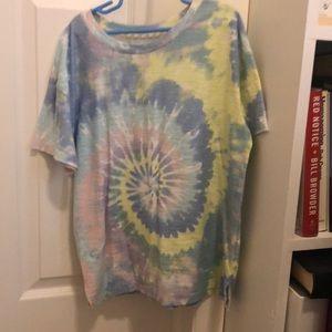 Short sleeve tie dye t shirt - very good condition